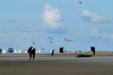 Drachenfest in St. Peter Ording